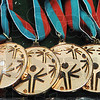 Tribune-Star/Rachel Keyes<br /> All winners: Every participant receives a medal for participating in the Special Olympics.