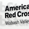 Signate: Detail photo of Red Cross sign.