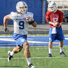 Practice: Indiana State University football players participate in the first day of spring practice Wednesday afternoon at Memorial Stadium.