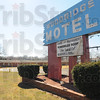 Tribune-Star/Jim Avelis<br /> In the works: There has been a rezoning request for the old Woodridge Motel porperty on east Wabash Avenue.