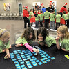 "Match game: A group of Dixie Bee Elementary students participate in a ""match game"" during activities at Ivy Tech Community College - Wabash Valley Wednesday morning."