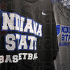 Tribune-Star/Jim Avelis<br /> In demand: Indiana State University basketball clothing can be found at several valley stores including Pacesetter Sports and the bookstore on campus.