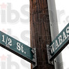 Location: Street signs indicate the location of the new professional office building.