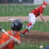 Heat: Marshall pitcher #14, Zach Remlinger fires the ball past a Paris batter during early action Tuesday afternoon.