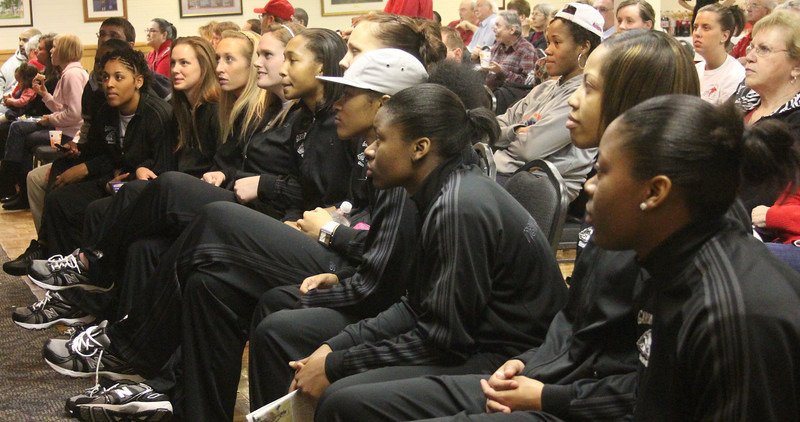 NCAA Selection party March 14, 2011 held in Ritch Banquet Hall. The Lady Bulldogs were awarded a #14 seed and will face Miami in Charlottesville, VA