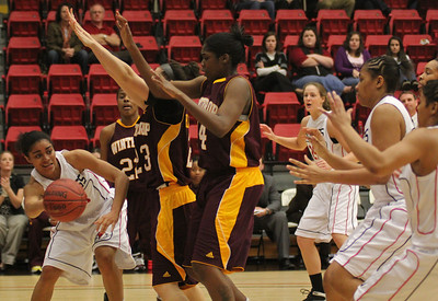 The GWU Women's Basketball team took on the Lady Eagles of Winthrop.