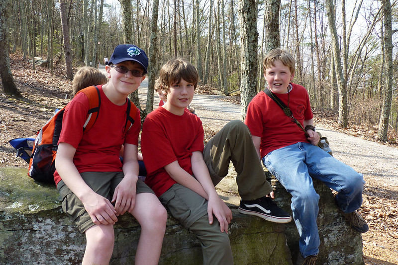Anthony, Collin, and Hunter