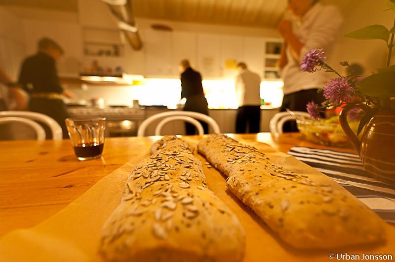 Nybakt bröd!
