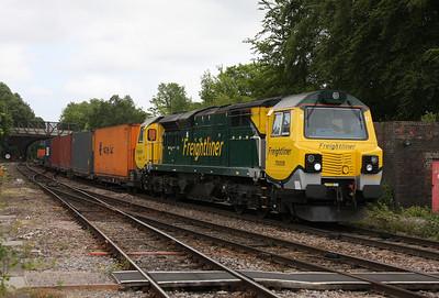 70008 Basingstoke 23/05/11 4O51 Wentloog to Southampton