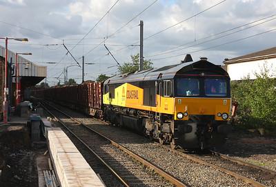 66845 Warrington Bank Quay 11/05/11 6J37 Carlisle to Chirk