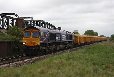 66727 Battledown 23/05/11 6O96 Mountsorrel to Eastleigh