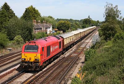 67018 Worting Jct 25/05/11 1Z93 Basingstoke to Bournemouth