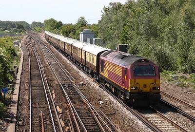 67022 Worting Jct 25/05/11 1Z92 Bournemouth to Basingstoke