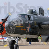 "Taxi: The B-25 ""Show Me"" taxis to the tarmac Friday morning at Hulman International Airport."