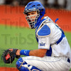 Tribune-Star/Jim Avelis<br /> Local product: ISU catcher Jeremy Lucas is a graduate of West Vigo High School as are teammates Jordan Pearson and Tyler Wampler.