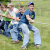 Ag Expo: High School students from area school participate in a contest of strength during Fridays Ag Expo at Ivy Tech.