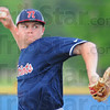 Tribune-Star/Jim Avelis<br /> Winner: Nickohli Kimmel was the winning pitcher for Terre Haute North Friday evening.