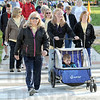 Marchers: Thousands of people participated in Saturday's March of Dimes event starting at Memorial Stadium.