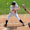 High ball: Rose-Hulman's #19, Jamie Weinle passes on a high pitch during game action Saturday.