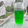 Tribune-Star/Jim Avelis<br /> Entrepreneur: Jaden Maresch hawks her Kool- Aid(two flavors) at the corner of Monterrey and Poplar Wednesday afternoon.