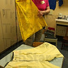 Tribune-Star/Jim Avelis<br /> Seniors: Yellow corduroy, in both pants and skirts were once the style for high school seniors.