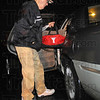 Tribune-Star/Jim Avelis<br /> Early start: Granville Lowe arrives for his daily workout about 5:00 a.m.