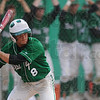 Tribune-Star/Rachel Keyes<br /> Batter up: West Vigo's Dylan Aff prepares to swing as his teammates cheer him on in action Saturday at the Big Four Classic.