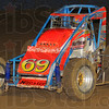 Winner: Jerry Coons of Tucson Arizona won the 30 lap Tony Hulman Classic Thursday night. Here he competes in one of the heat races to determine starting position.