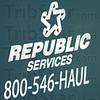 Logo: Eetail of Republic Services logo.