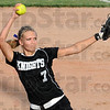 Heat: Northview pitcher #7,Taylor Carter fires a pitch to the plate during game action against South.