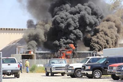 May 24 - 440 W Pinnacle Peak Rd, Phoenix - Multiple Conex Boxes Fire