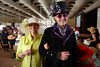"(Denver, Colorado, May 4, 2011)<br /> Susan Kiely and Tommy Collier.  ""Women With Hattitude,"" benefiting the Women's Voices Fund, at the Donald R. Seawell Grand Ballroom in Denver, Colorado, on Wednesday, May 4, 2011.<br /> STEVE PETERSON"