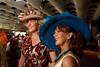 "(Denver, Colorado, May 4, 2011)<br /> Lisa Daniel-Johnson and Gayle Novak.  ""Women With Hattitude,"" benefiting the Women's Voices Fund, at the Donald R. Seawell Grand Ballroom in Denver, Colorado, on Wednesday, May 4, 2011.<br /> STEVE PETERSON"