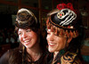 "(Denver, Colorado, May 4, 2011)<br /> Stephinity Salazar and Tiffany Smyth, who designed their own hats.  ""Women With Hattitude,"" benefiting the Women's Voices Fund, at the Donald R. Seawell Grand Ballroom in Denver, Colorado, on Wednesday, May 4, 2011.<br /> STEVE PETERSON"