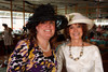 "(Denver, Colorado, May 4, 2011)<br /> Kimi Brown and Sharon Whiton Gelt.  ""Women With Hattitude,"" benefiting the Women's Voices Fund, at the Donald R. Seawell Grand Ballroom in Denver, Colorado, on Wednesday, May 4, 2011.<br /> STEVE PETERSON"