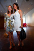 "(Denver, Colorado, May 4, 2011)<br /> Maureen Cannon (in Pucci, Manolo Blahnik shoes and Chanel handbag) and Rochelle McNaughton (in Calvin Klein, xxx shoes and Prada handbag).  ""Luncheon By Design,"" an event sponsored by Neiman Marcus and The Design Council, at the Denver Art Museum in Denver, Colorado, on Wednesday, May 4, 2011.<br /> STEVE PETERSON"
