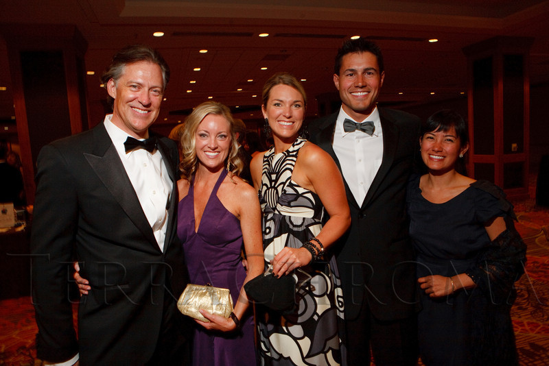 (Denver, Colorado, May 7, 2011)<br /> Peter Wells, Julie Gordon, Lindsey Wiseman, Andrew Green, and Tamaru Hiromitsu.  Colorado Symphony Gala at the Sheraton Denver Downtown Hotel in Denver, Colorado, on Saturday, May 7, 2011.<br /> STEVE PETERSON