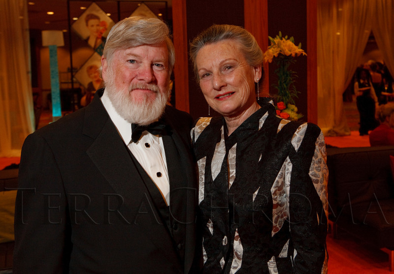 (Denver, Colorado, May 7, 2011)<br /> Cy and Lyndia Harvey.  Colorado Symphony Gala at the Sheraton Denver Downtown Hotel in Denver, Colorado, on Saturday, May 7, 2011.<br /> STEVE PETERSON