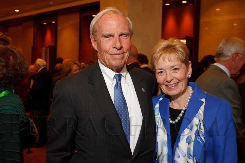(Denver, Colorado, May 11, 2011)<br /> Bruce and Marcy Benson.  Bonfils-Stanton Annual Awards Celebration at the Four Seasons Hotel Denver in Denver, Colorado, on Wednesday, May 11, 2011.<br /> STEVE PETERSON