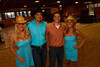 "(Littleton, Colorado, May 14, 2011)<br /> Jessi Stokes, Denver Active 20-30 members Doug White and Randy Roberts, and Brie Goin.  Stokes and Goin represent Grey Goose.  ""The Barn Party,"" a kick-off to the Schomp BMW Denver Polo Classic, presented by Denver Active 20-30, at the stables of the Polo Reserve Development in Littleton, Colorado, on Saturday, May 14, 2011.<br /> STEVE PETERSON"
