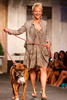 "(Denver, Colorado, May 21, 2011)<br /> Heidi McGuire with Chico.  Mutts and Models fashion show, themed ""Breakfast at Sniffany's,"" at Exdo Event Center in Denver, Colorado, on Saturday, May 21, 2011.<br /> STEVE PETERSON"