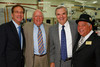 (Denver, Colorado, May 26, 2011)<br /> Dr. Michael Salem, Charlie Gallagher, Bob Malone, and Peter Kudla.  The annual Mizel Museum gala at Wings Over the Rockies Air & Space Museum in Denver, Colorado, on Thursday, May 26, 2011.<br /> STEVE PETERSON