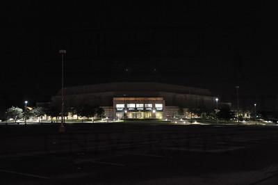 6722 Nutter Center Parking Lot at Night 5-22-11