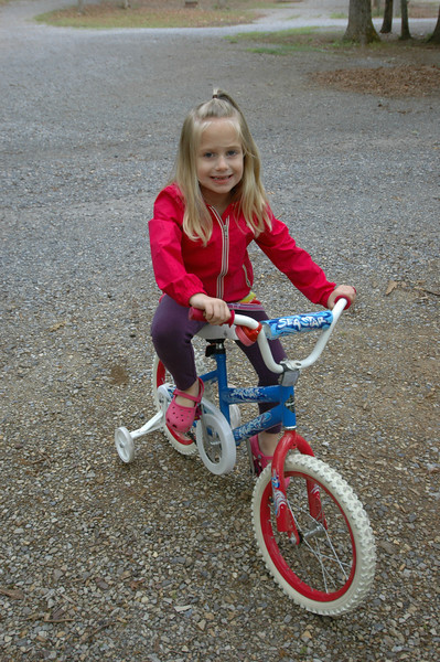 Some early morning bike riding