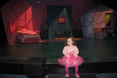 """on the set of """"Pinkalicious"""""""