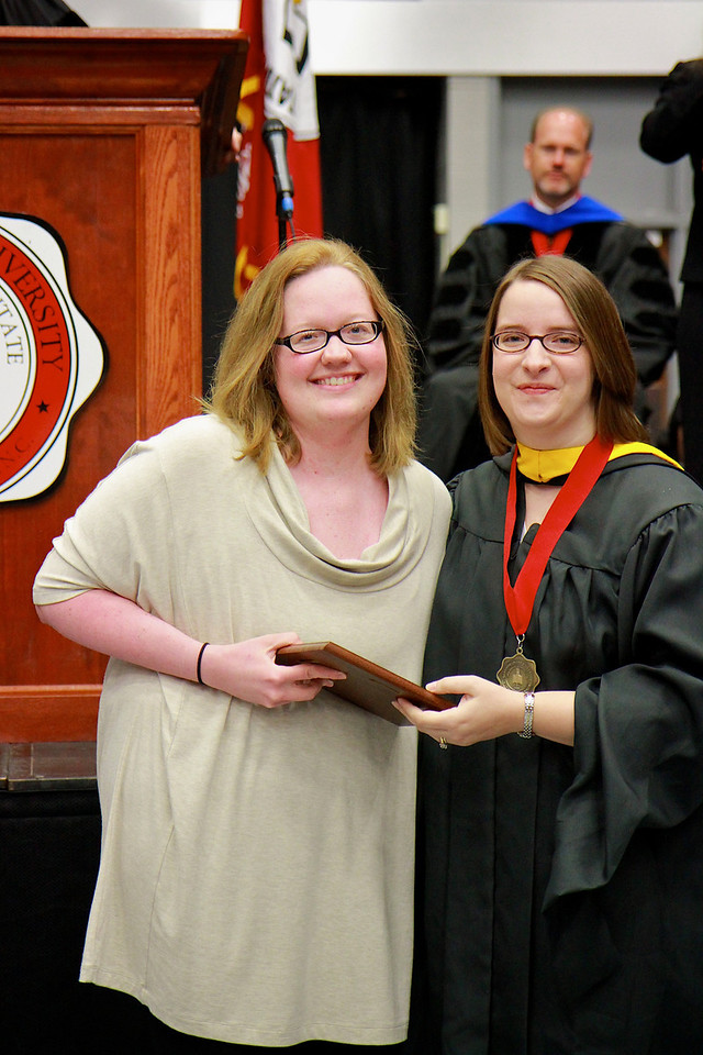 56th Annual Academic Awards Day Ceremony. Communication Studies Award: Erin Lindsey Cooke