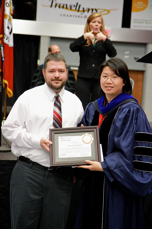 56th Annual Academic Awards Day Ceremony. Wallace Carpenter Management Information Systems Award: Bryan Keith Sowell