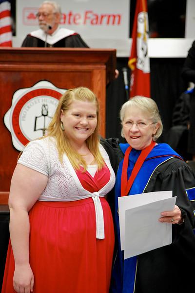 56th Annual Academic Awards Day Ceremony. Senior English Major Award: Nikki Raye Rice