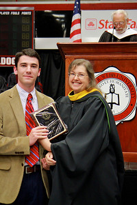 56th Annual Academic Awards Day Ceremony. Stefka Eddins Undergraduate Research Award: James Martin Withrow
