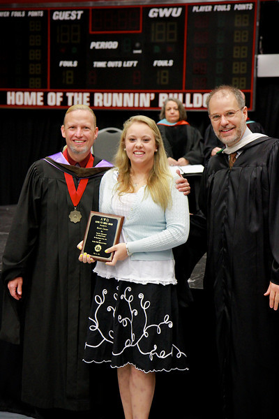 56th Annual Academic Awards Day Ceremony. Award for Excellence in Technical Theater: Eleanor McKenzie Conner